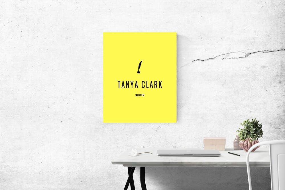 Tanya Clark - writer
